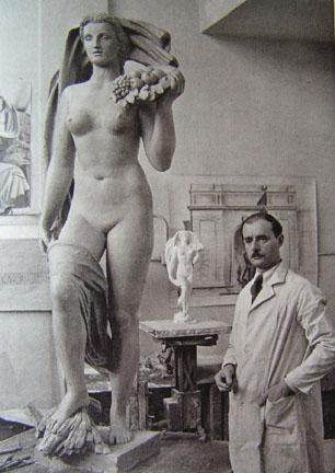 Adolf Wampers - Selbstinszenierung eines Künstlers